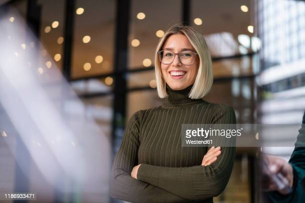 portrait of confident young woman in the city - blazer jacket stock pictures, royalty-free photos & images
