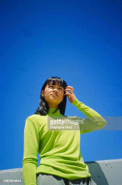 portrait of confident young woman - showus stock pictures, royalty-free photos & images