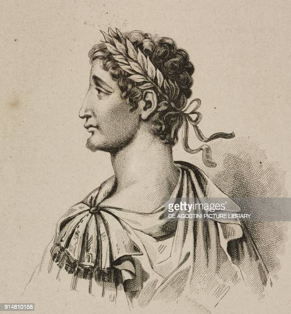 Portrait of Conrad II called the Salic Holy Roman Emperor engraving by Lemaitre and Lesueur from Allemagne by Philippe Le Bas L'Univers pittoresque...