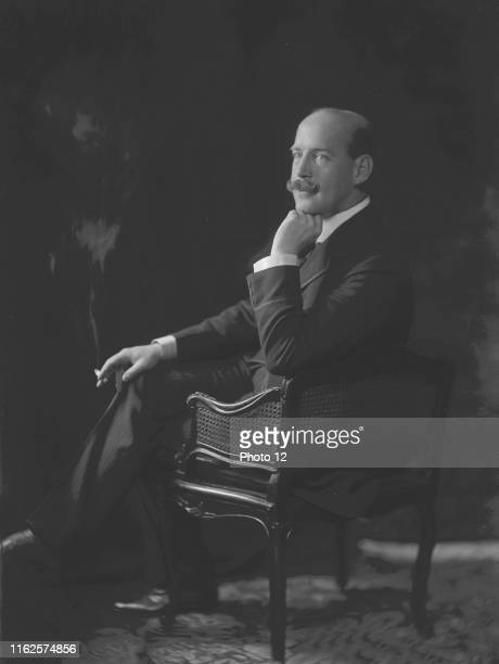 Portrait of Constantine I of Greece , King of the Hellenes from 1913 to 1917 then from 1920 to 1922. C.1915 Photo Taponier.