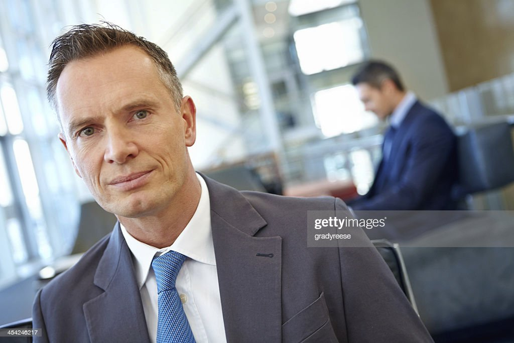 Portrait of corporate professionalism : Stock Photo