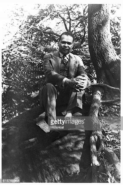 Portrait of Countee Cullen , African American poet and one of the leaders of the Harlem Renaissance in the 1920s.