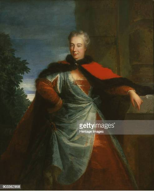 Portrait of Countess Elzbieta Helena Sieniawska née Lubomirska Found in the Collection of Muzeum Narodowe Warsaw