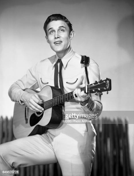 Portrait of country singer Jimmy Dean host of the The Jimmy Dean Show a music and variety television show March 25 1957 Hollywood CA