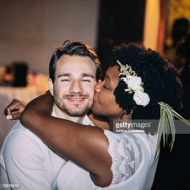 Portrait Of Couple At Wedding