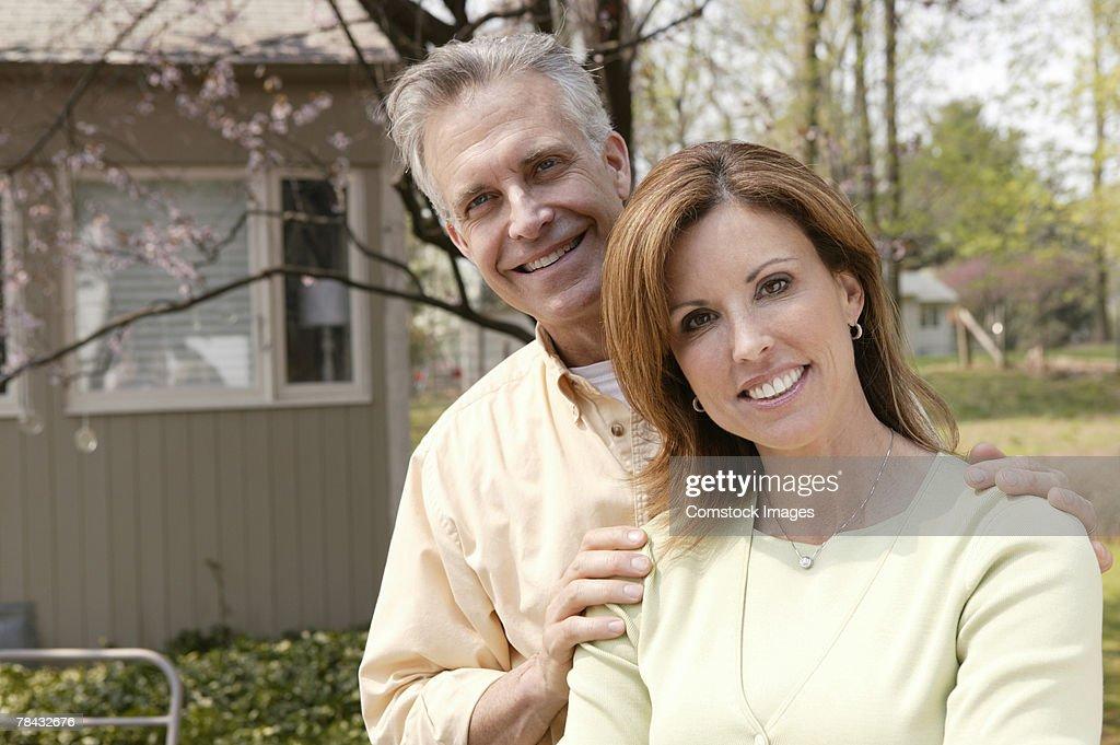 Portrait of couple : Stockfoto