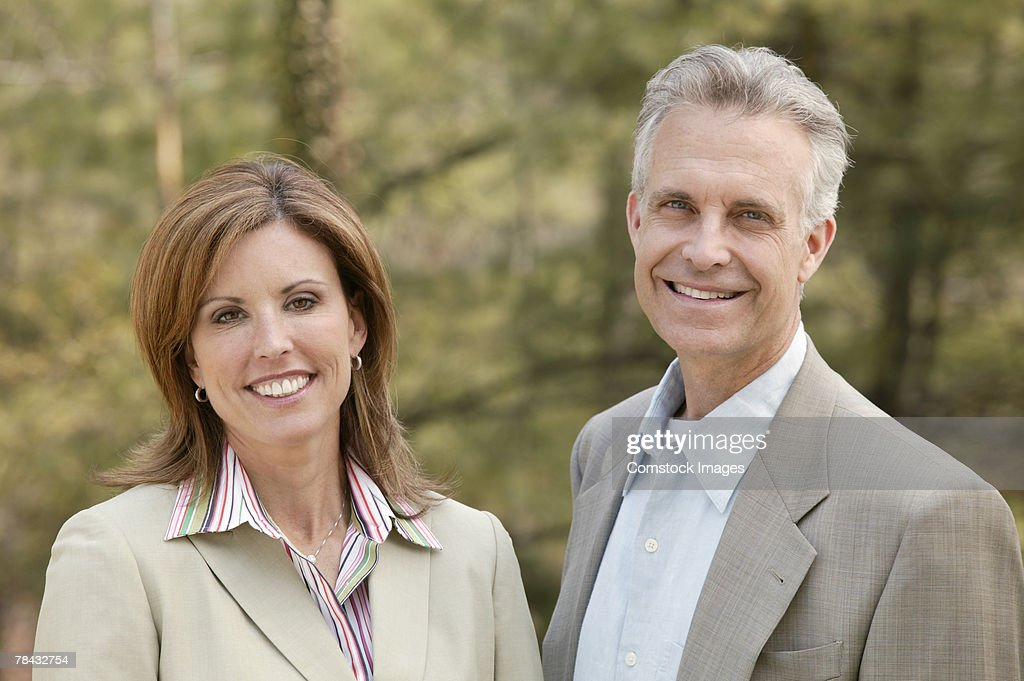 Portrait of couple : Stockfoto