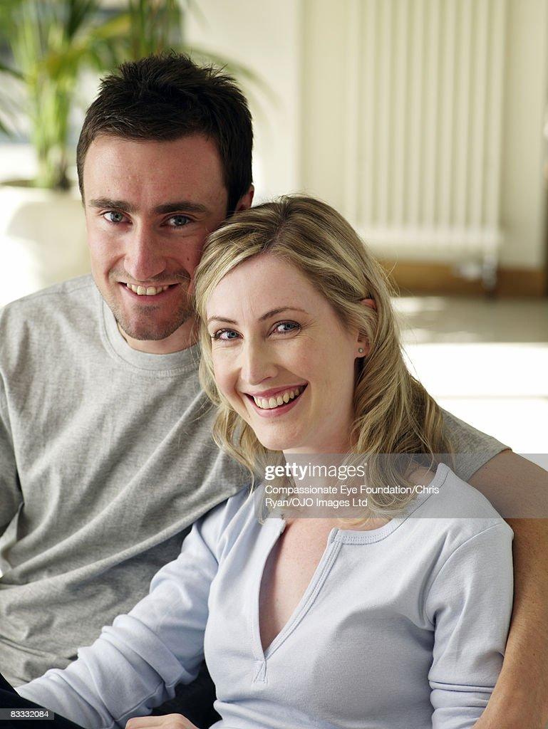 Portrait of couple : Stock Photo