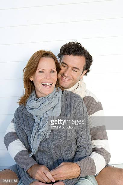 Portrait of couple, smiling