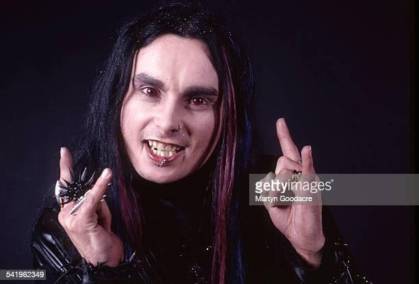 Portrait of Cradle Of Filth vocalist Dani Filth London United Kingdom 2000