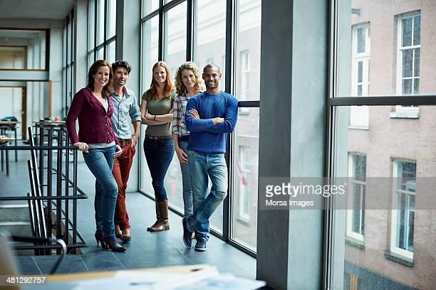 Portrait of creative business people