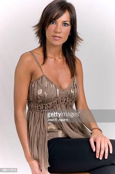 Portrait of Cristina Saavedra TV hostess
