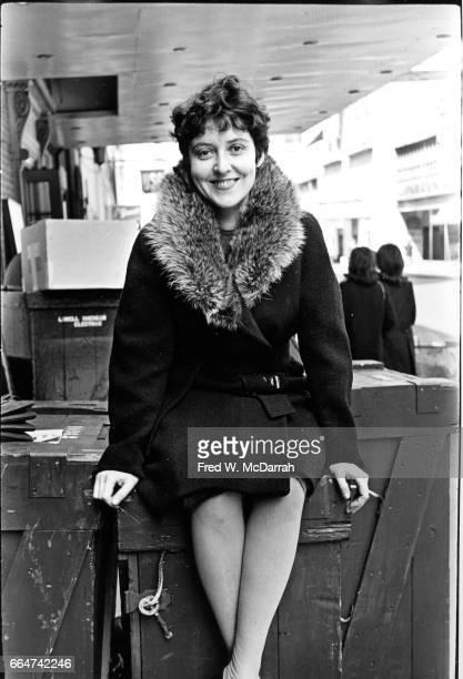Portrait of Cubanborn American avantgarde playwright and theatre director Maria Irene Fornes New York New York April 16 1966