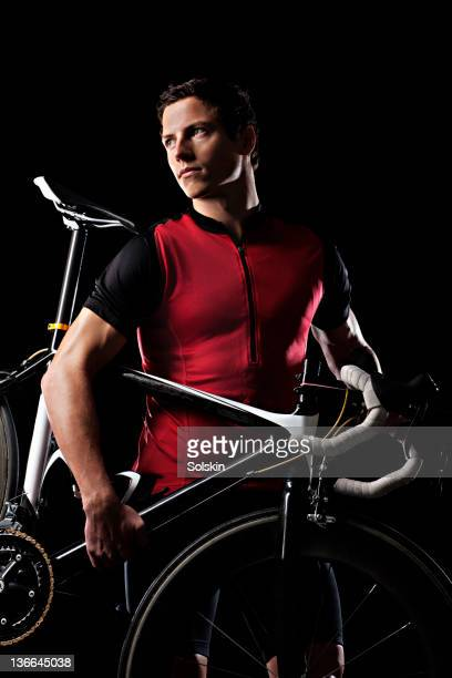 Portrait of cycle athlete