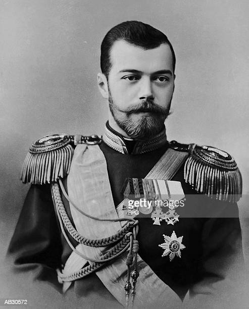 portrait of czar nicholas ii - czar stock pictures, royalty-free photos & images