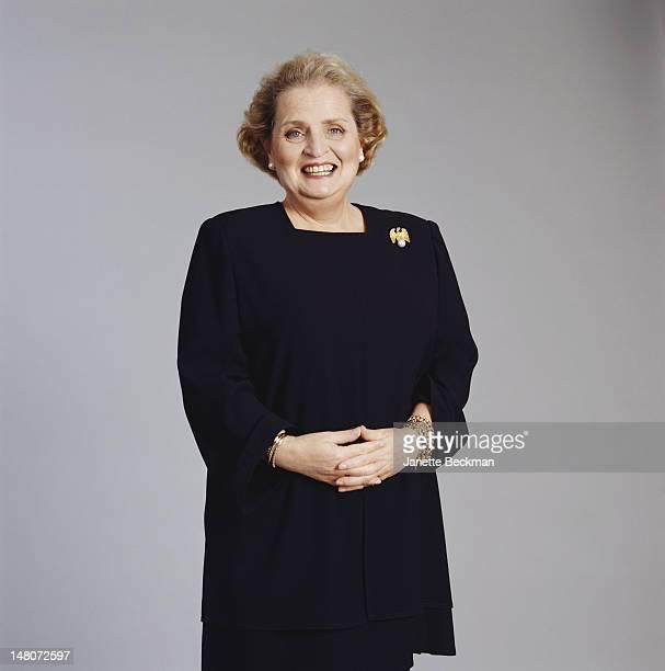 Portrait of Czechborn American diplomat US Secretary of State Madeleine Albright New York New York 1998
