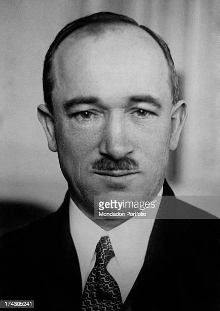 Portrait of Czechoslovakian politician Edvard Benes 1930s