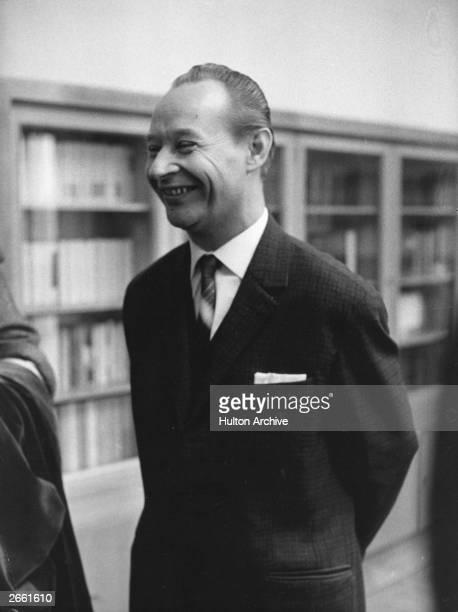A portrait of Czechoslovakian statesman Alexander Dubcek