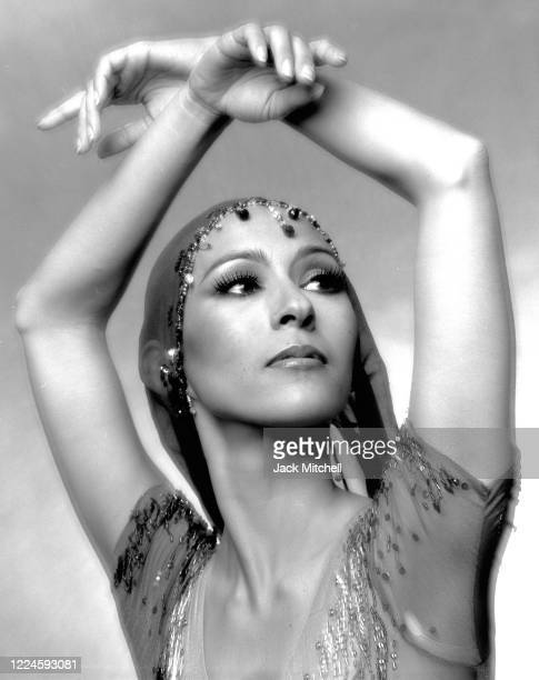 Portrait of dancer Marianna Tcherkassky, of the American Ballet Theater, May 1981.