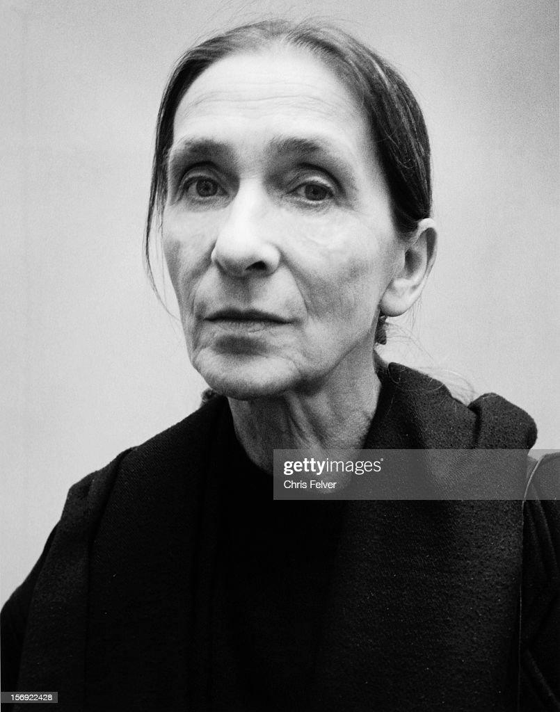 Portrait of dancer Pina Bausch, Wuppertal, Germany, 2004.