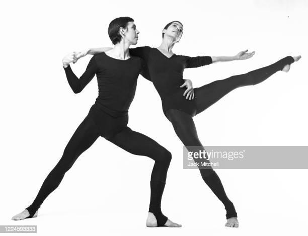 Portrait of dancers Jeff Slayton and Viola Farber, November 1973.