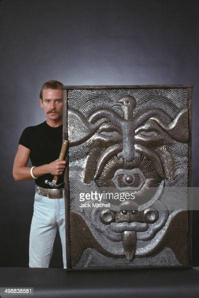 Portrait Of Danish Sculptor Oluf Gravesen As He Poses With Some Of News Photo Getty Images