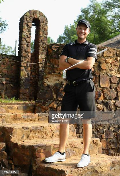 A portrait of Danny Willett of England ahead of the Tshwane Open at Pretoria Country Club on February 28 2018 in Pretoria South Africa