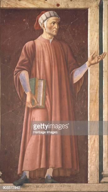 Portrait of Dante Alighieri Found in the Collection of Galleria degli Uffizi Florence