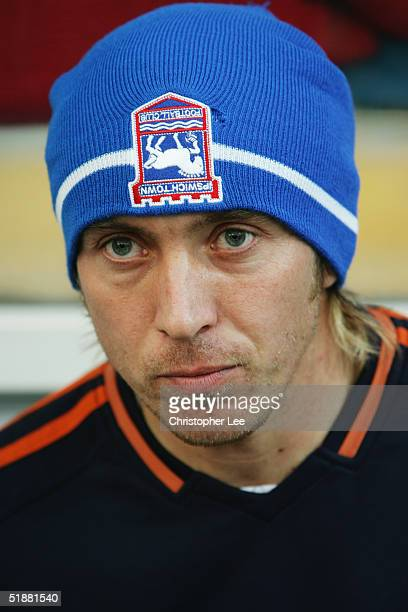 A portrait of Darren Currie of Ipswich Town prior to the CocaCola Championship match between Queens Park Rangers and Ipswich Town at Loftus Road...