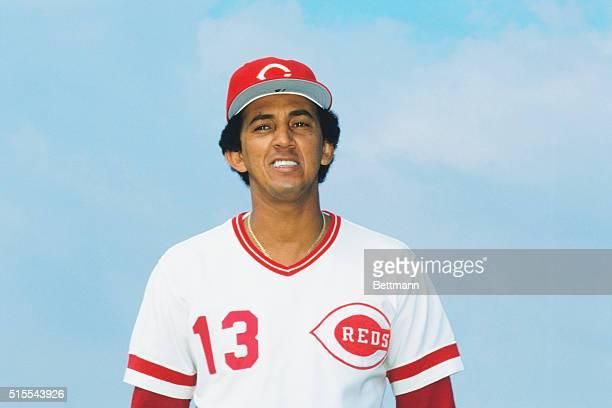 Portrait of Dave Concepcion infielder for the Cincinnati Reds