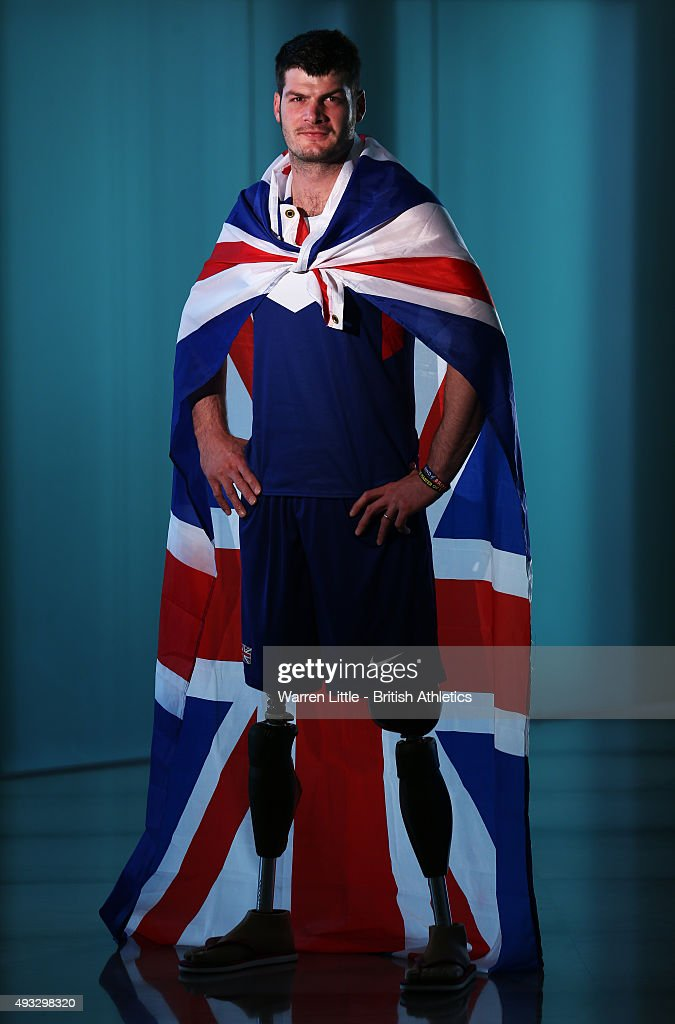 A portrait of Dave Henson of Great Britain Paralympic Team ahead of the IPC Athletics World Championship at The Torch Hotel on October 16, 2015 in Doha, Qatar.