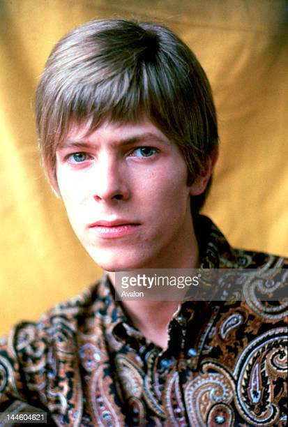 Portrait of David Bowie photographed in 1967.;