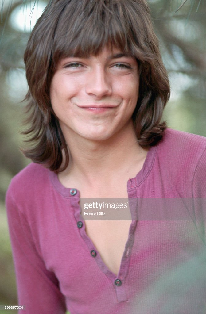 Portrait of David Cassidy, actor on the television show The Partridge Family, on vacation in Hawaii.