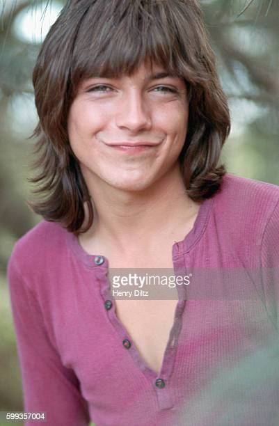 Portrait of David Cassidy actor on the television show The Partridge Family on vacation in Hawaii