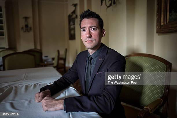 Portrait of David Daleiden, founder of The Center for Medical Progress at the Value Voters Summit on September 25, 2015 in Washington DC.