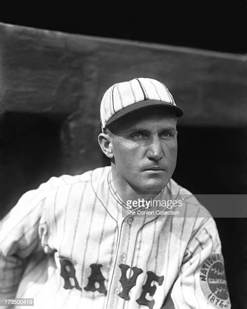 A portrait of David J Bancroft of the Boston Braves in 1925