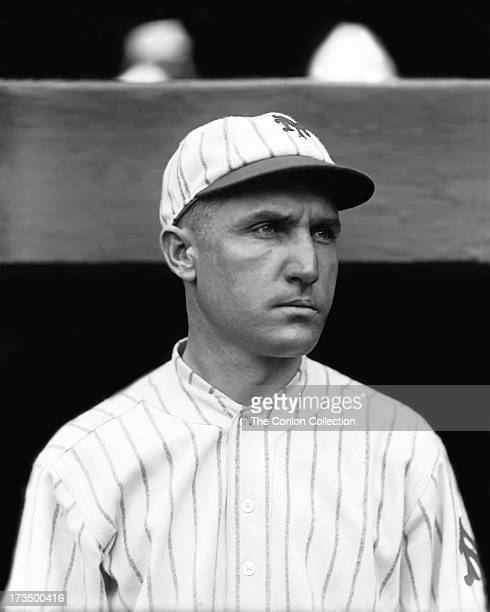 A portrait of David J Bancroft of the New York Yankees in 1922