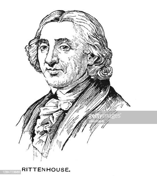 portrait of david rittenhouse, american astronomer, inventor - diplomacy stock pictures, royalty-free photos & images