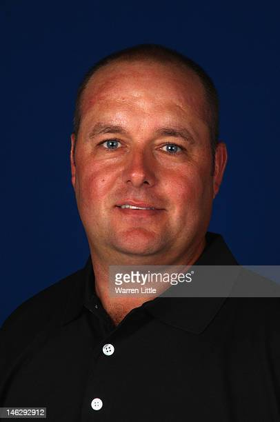Portrait of David Smith of England ahead of the BMW PGA Championship at Wentworth on May 22, 2012 in Virginia Water, England.
