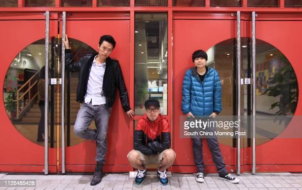 Portrait of deaf filmmaker's Jason Wong Martin Mak and Fong Bao whose productions will be screened at the third Hong Kong International Deaf Film...