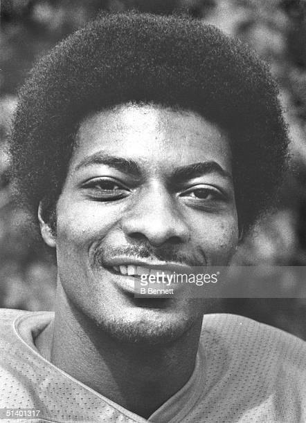 Portrait of defensive back Louis Wright of the Denver Broncos Louis Wright played for the Denver Broncos from 19751986