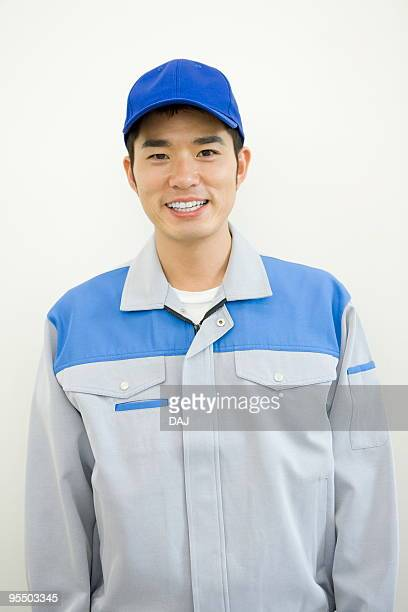 Portrait of delivery man