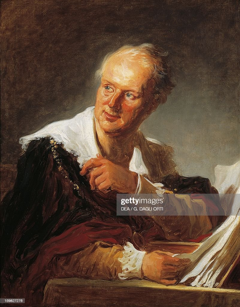 Portrait of Denis Diderot... : News Photo