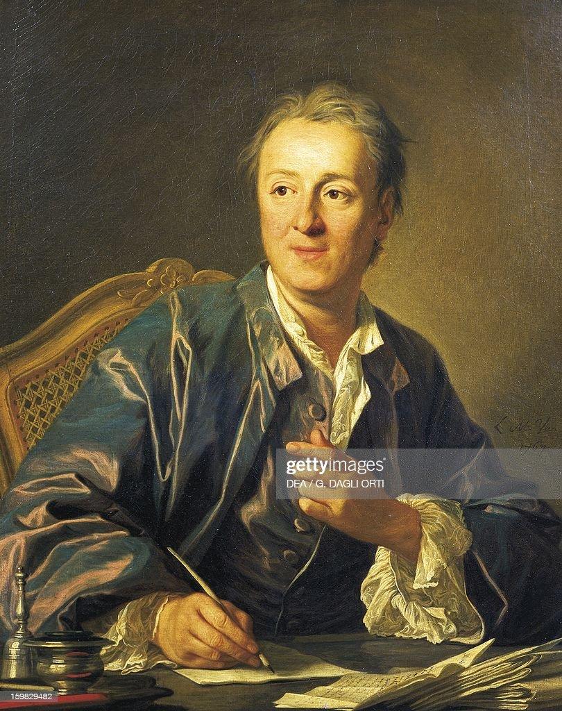 Portrait of Denis Diderot... : News Photo