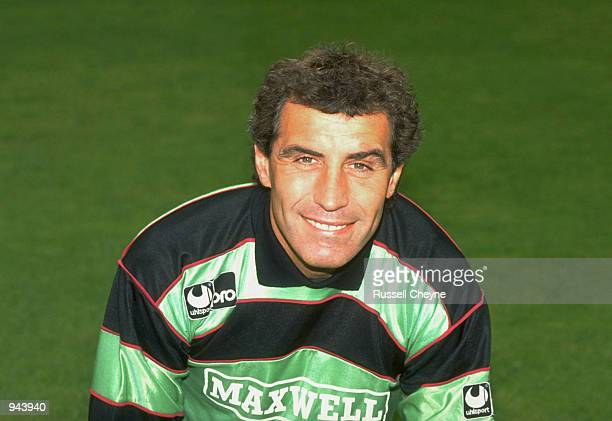Portrait of Derby County goalkeeper Peter Shilton Mandatory Credit Russell Cheyne /Allsport