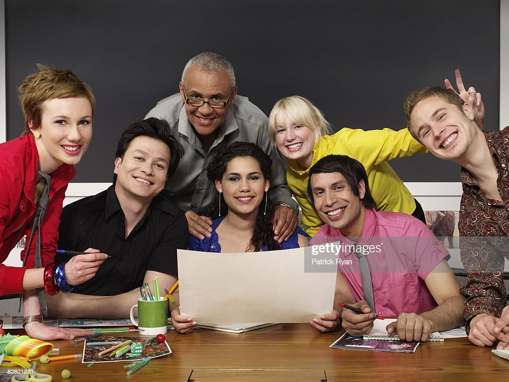 portrait of designers in the office : Stock Photo