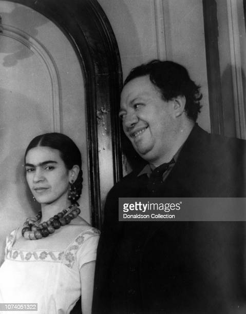Portrait of Diego Rivera and Frida Kahlo