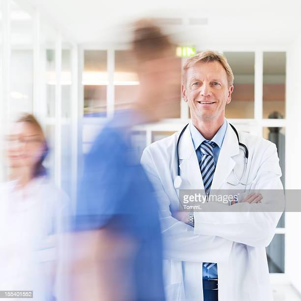 Porträt von Arzt
