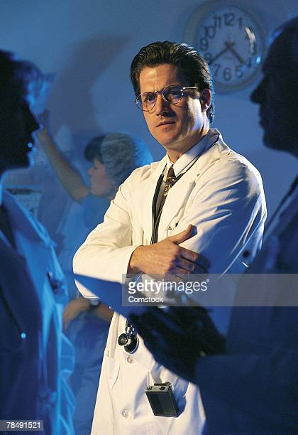 portrait of doctor with others - category:cs1_maint:_others stock pictures, royalty-free photos & images