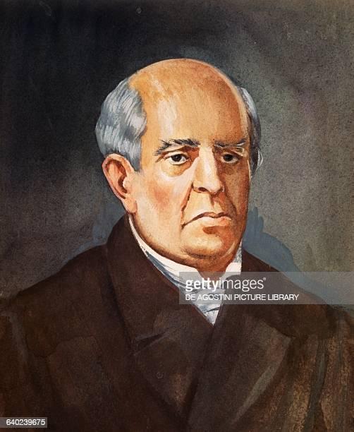 Portrait of Domingo Faustino Sarmiento Argentine politician